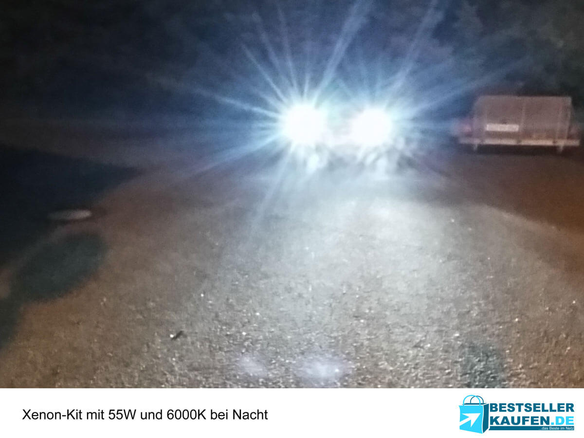 Xenon Kit bei Nacht