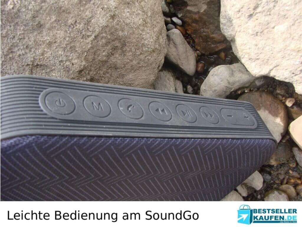 Bedienung Bluetoothlautsprecher