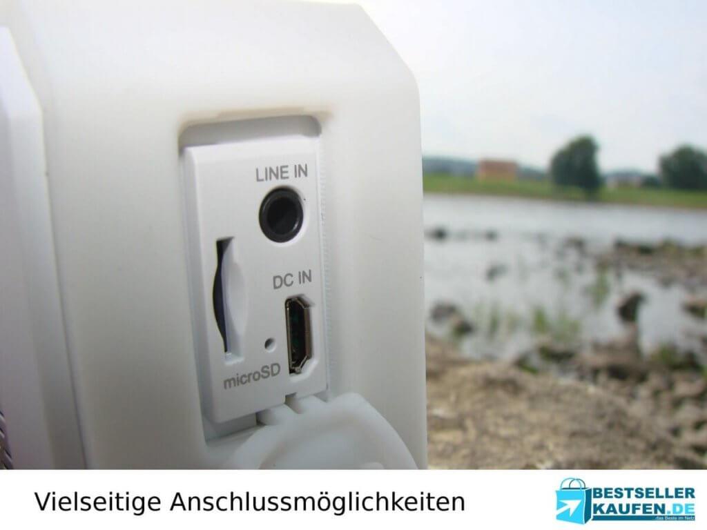 Anschluss bluetooth lautsprecher test