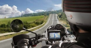 Motorrad Navigation Test