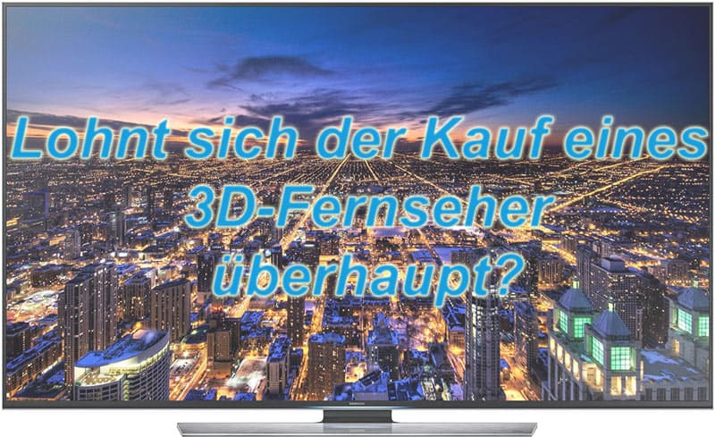 3d fernseher kaufen